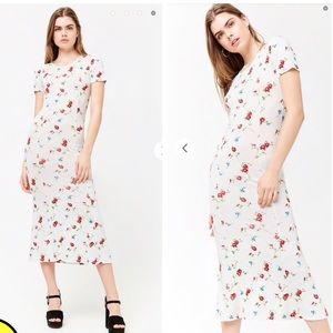 NEW NWT stretchy floral dress